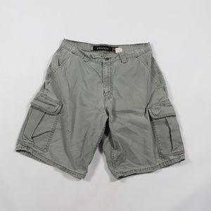 Vintage Levi's Silvertab Cargo Shorts Gray 31